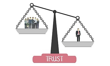 Inter-organisational trust: is more always better?