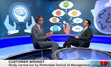 BBC World News interviews Jan van den Ende